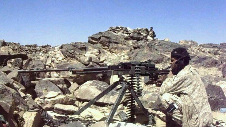 قوات الجيش الوطني تسيطر على مواقع جديدة في مديرية الملاجم بمحافظة البيضاء