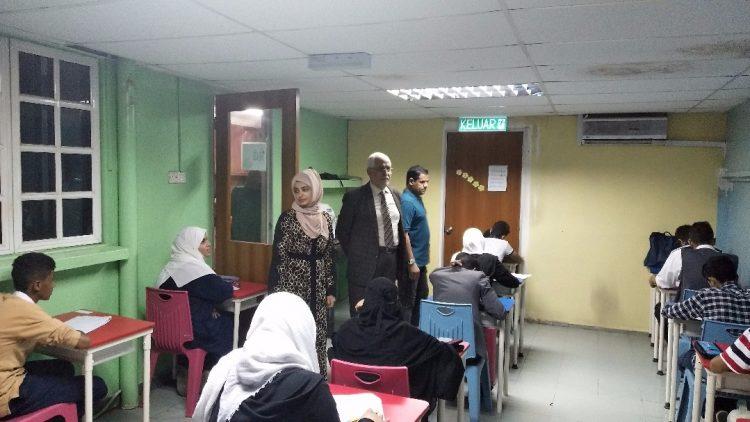 الملحقية الثقافية في ماليزيا تدشن بدء اختبارات المرحلة الأساسية لمدارس الجالية اليمنية