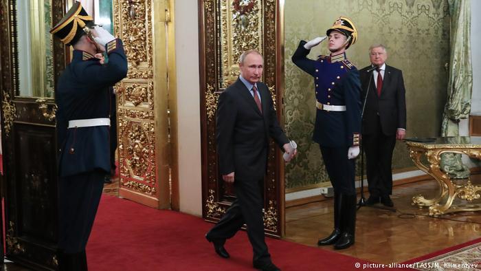 الرئيس الروسي يؤدي اليمين الدستورية لفترة ولاية رابعة