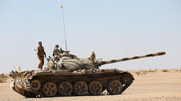 قوات الجيش الوطني تطهر خط صعدة الجوف ومصرع 10 من عناصر المليشيات