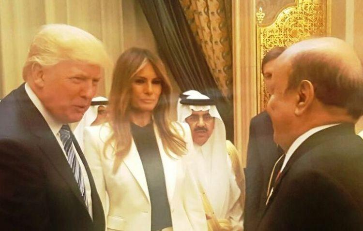 دونالد ترامب يبعث رسالة إلى الرئيس اليمني عبدربه منصور هادي (تفاصيل)