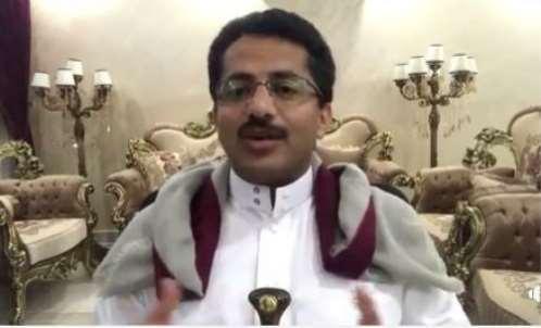 """القيادي الحوثي """"السابق"""" علي البخيتي يحرض على تعز ويدعو الامارات لتشكيل مليشيات فيها"""