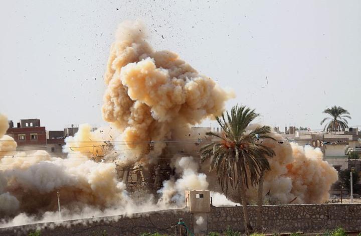 مصر: الجيش يعلن مقتل 19 مسلحا خلال عملياته بشمال سيناء