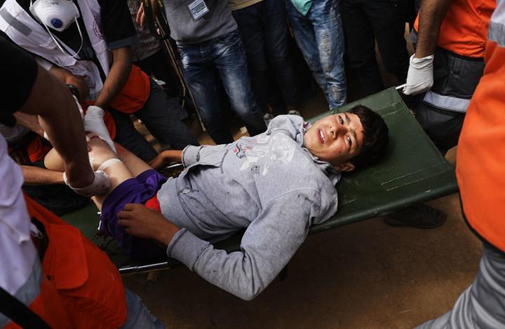 """منطمة دولية:  """"ألف"""" طفل فلسطيني أصيبوا في غزة وندعو لوقف استهدافهم"""