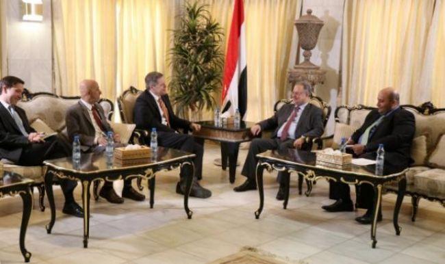 واشنطن تؤكد دعم الحكومة اليمنية حتى اسقاط الانقلاب