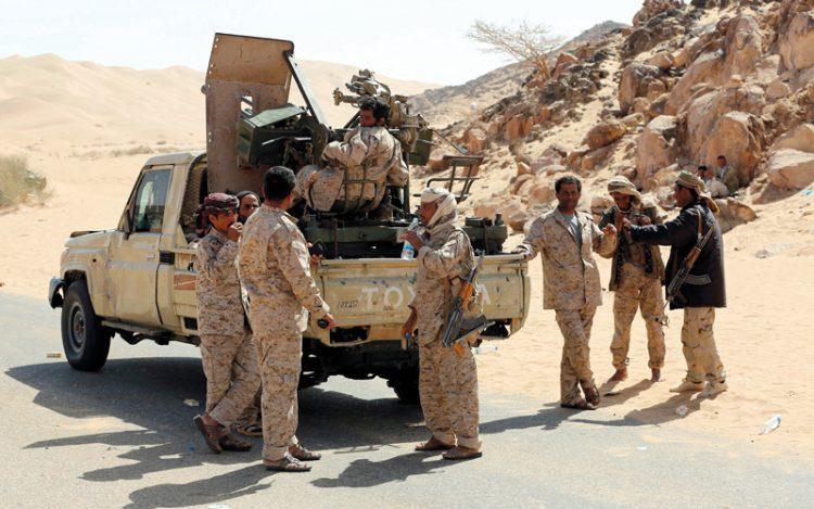 قوات الجيش الوطني تحبط محاولة تسلل للمليشيات في جبهة قانية وسقوط قتلى وجرحى من المليشيات
