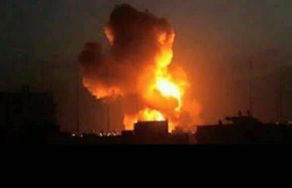 مصرع عدد من القيادات الحوثية في غارة للتحالف العربي على شركة النفط بصنعاء