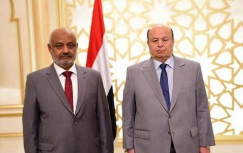 الرئيس هادي يتابع انتصارات الجيش الوطني في جبهات الساحل الغربي