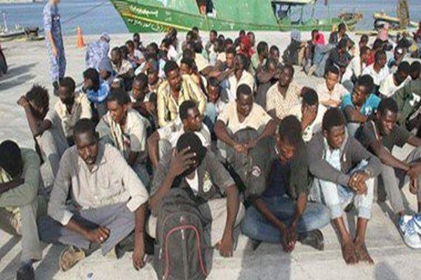 منظمة الهجرة الدولية تعلن إجلاء 100 مهاجر إثيوبي من اليمن عبر ميناء الحديدة