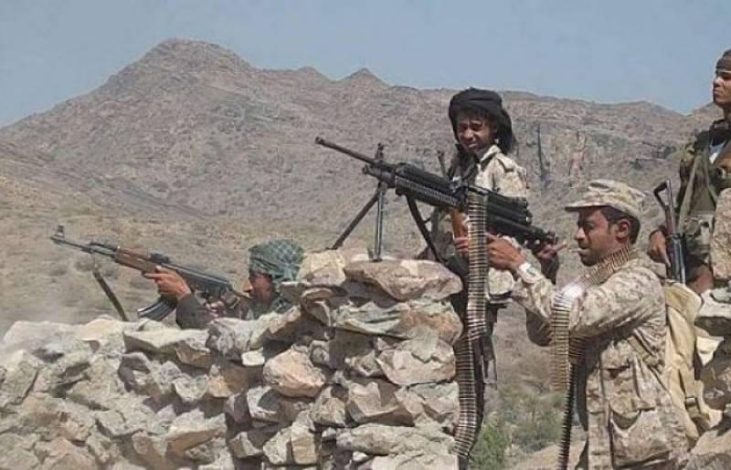 قوات الجيش الوطني تحبط هجوما لمليشيا الحوثي وتتقدم في منطقة البرح غرب تعز
