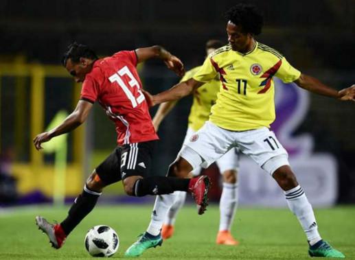 تعادل سلبي بين مصر وكولومبيا استعداداً لكأس العالم