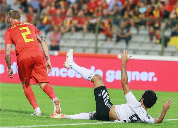 مصر تفشل في آخر الاستعدادات للمونديال أمام بلجيكا