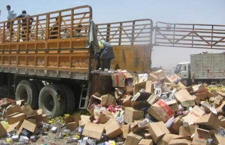 غيوم سوداء واختناقات في صنعاء جراء حريق مقلب نفايات لليوم الثالث على التوالي