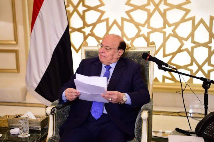 الرئيس هادي يوجه بإيجاد الحلول العاجلة لجميع مشاكلة العاصمة عدن