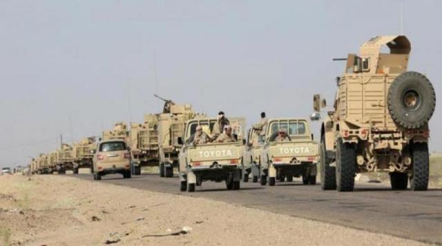 شاهد بالصور.. الجيش الوطني يستولي على آليات عسكرية وكمية كبيرة من الأسلحة في جبهة ميدي_حيران