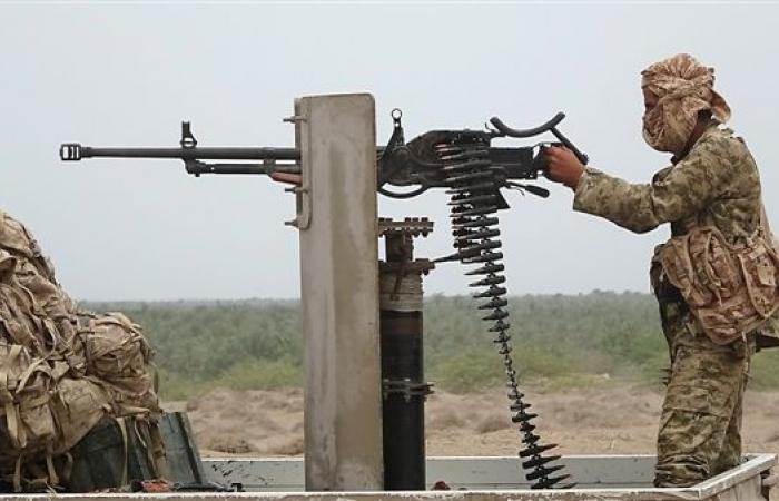 الجيش الوطني يسيطر على مدخل مطار الحديدة بعد تراجع مليشيات الحوثي الى داخل المطار