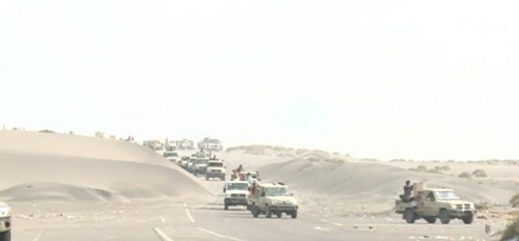 في اطار عملية تحرير محافظة الحديدة.. قوات الجيش الوطني تصل مشارف مطار الحديدة