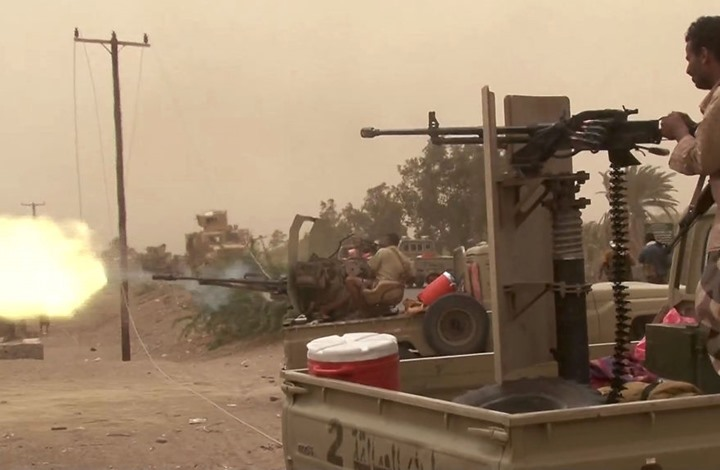 عاجل: قوات الجيش الوطني تصل جولة شارع الخمسين القريبة من مطاحن البحر الاحمر في الحديدة