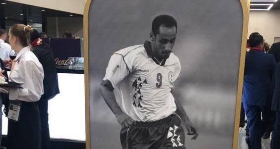 اللاعب السعودي سامي الجابر يشكر الفيفا بسبب صورتين!