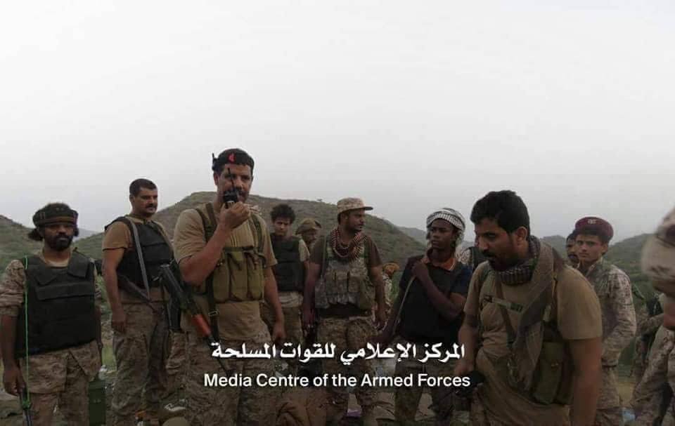 قوات الجيش الوطني تحرر مواقع جديدة في مديرية الملاحيظ بمحافظة صعدة