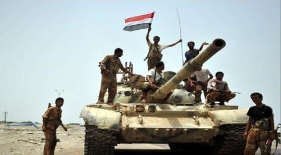 قوات الجيش الوطني تواصل تقدمها نحو ميناء الحديدة و 123 من المليشيات يسلمون أنفسهم