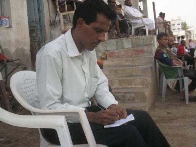 ادانات واسعة لإختطاف الحوثيين للصحفي قاسم البعيصي في الحديدة