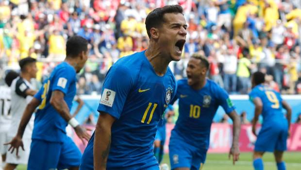 البرازيل تهزم كوستاريكا بشق الانفس في مونديال روسيا 2018