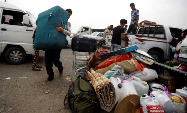 الأمم المتحدة تعلن نزوح نحو 350 ألف شخص في اليمن منذ مطلع العام الجاري
