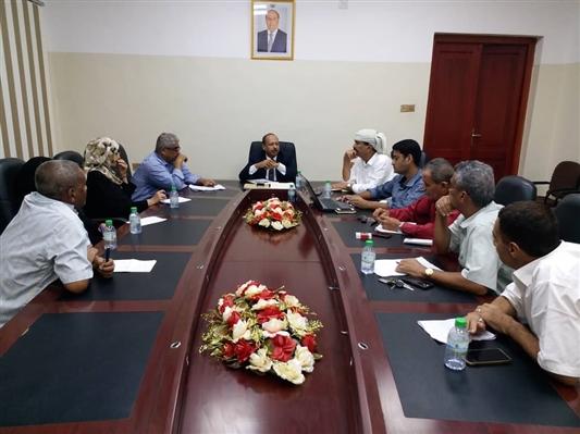 """وزارة الاتصالات في عدن تناقش تسعيرة خدمة """"عدن نت"""""""