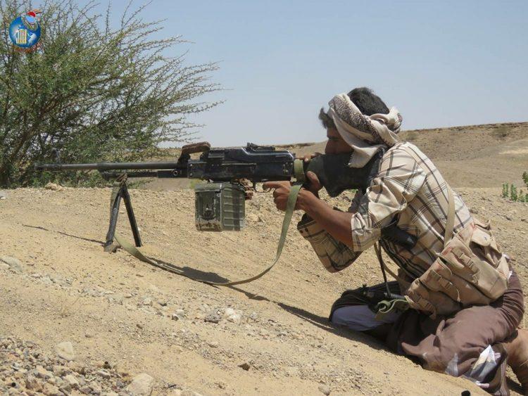 قوات الجيش الوطني تحرر مواقع جديدة في الشريجة بلحج