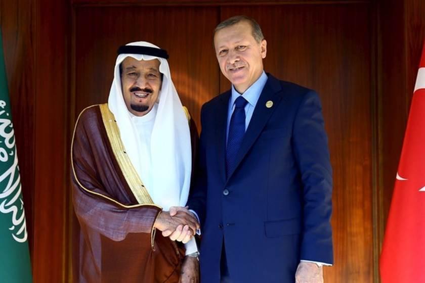 هاتفياً.. الملك سلمان يهنئ الرئيس التركي أردوغان