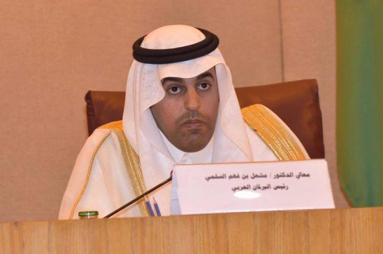 """رئيس البرلمان العربي يشكر السعودية على مشروع """"مسام"""" لنزع الالغام في اليمن"""