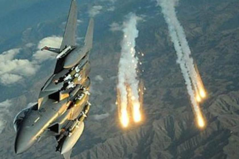 طيران التحالف العربي يشن غارات كثيفة على مواقع وتعزيزات مليشيا الحوثي في الحديدة