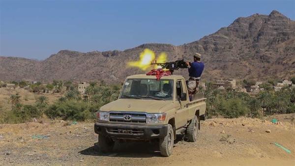 قوات الجيش الوطني تتقدم في مديرية حيفان جنوب تعز وتسيطر على مواقع جديدة