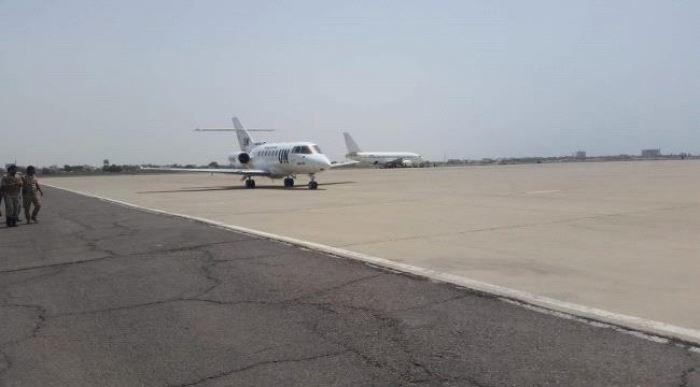 مبعوث الامم المتحدة مارتن غريفيث يصل العاصمة المؤقتة عدن
