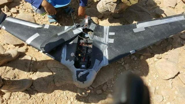 الجيش الوطني يُسقط طائرة تجسس تابعة للحوثيين في الحديدة