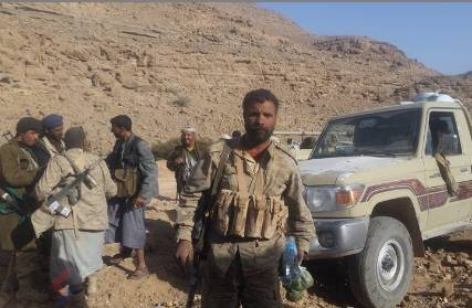 الجوف: قوات الجيش الوطني تحرر عدد من المواقع في مديرية المصلوب