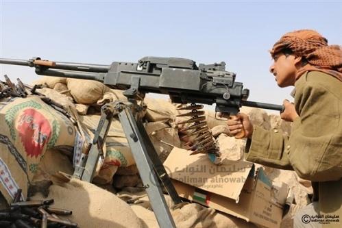 قوات الجيش الوطني تحرر مواقع جديدة في مديرية نهم وتكبد المليشيات خسائر فادحة