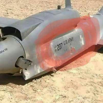 ماوراء خبر اسقاط طائرة حوثية قصفت مقر التحالف في عدن