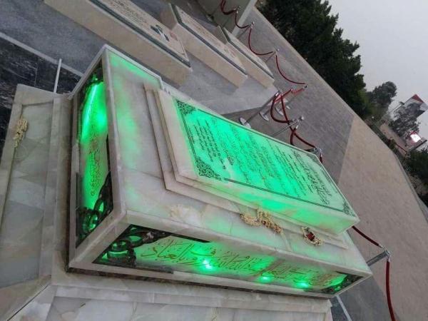 """مليشيا الحوثي تخصص ميزانية شهرية لحراسة قبر الصماد في """"صنعاء"""""""