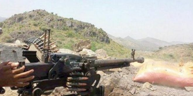 مقتل وإصابة 20 حوثيا في معارك مع قوات الجيش شمالي الضالع