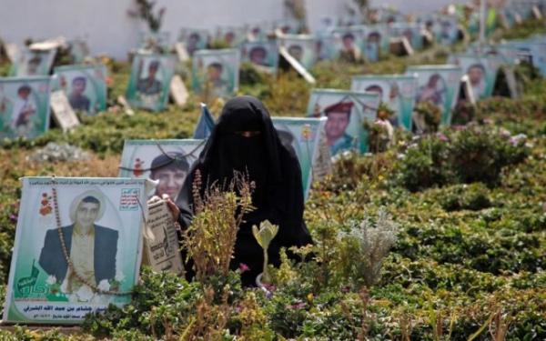 ذمار: مليشيا الحوثي تدفن أكثر من 100 جثة ليلاً وبشكل سري