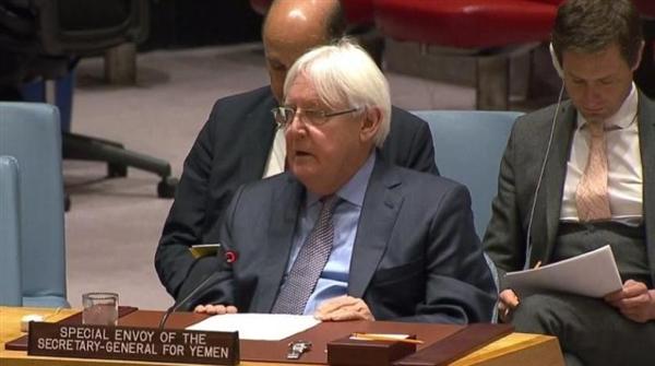 """جلسة مغلقة لمجلس الأمن للإستماع لإحاطة """"غريفيث""""حول اتفاق الحديدة"""