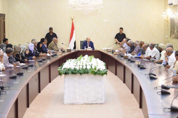 هادي: عدن ستظل رمز المدنية وأيقونة التعايش والسلام