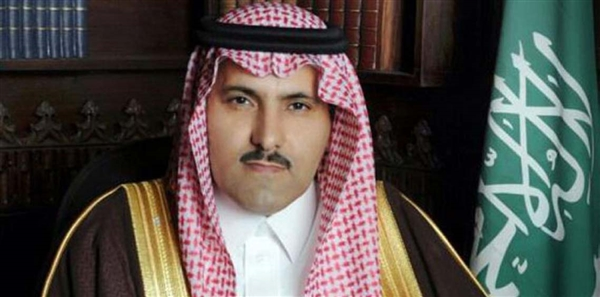 السفير السعودي لدى اليمن  المملكة بدأت بتغطية الإعتمادات المالية لإستيراد التجار اليمنين للمواد الغذائية