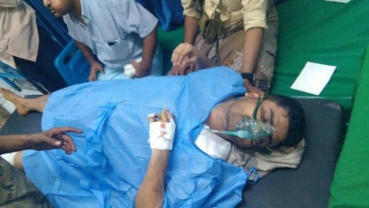 """اصابة """"الكازمي"""" في هجوم مسلح بالعاصمة المؤقتة عدن"""