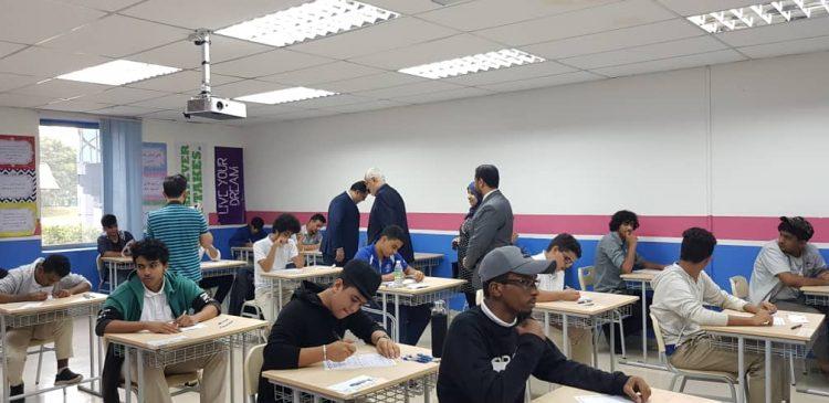 تدشين امتحانات الثانوية العامة لعدد 102 طالب وطالبة من ابناء الجالية اليمنية في ماليزيا (صور)