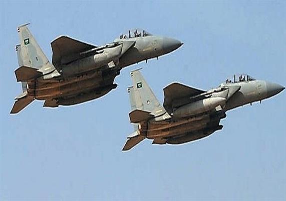 طيران التحالف العربي يستهدف مركز عمليات للحوثيين في مديرية صرواح بمأرب