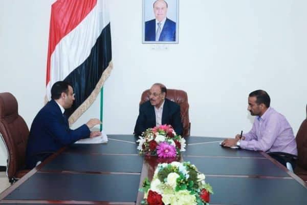 نائب رئيس الجمهورية يناقش مع نائب وزير المغتربين مشاكل المغتربين وسبل الحلول المتاحة