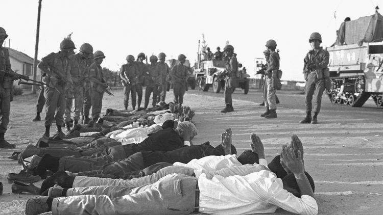 """وثائقي إسرائيلي:"""" بن غوريون"""" وضع خطية القضاء على الجيوش العربيّة واحتلال الأراضي العربيّة في كلٍّ من مصر سوريّة والأردن"""